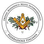 Emblema della Federazione italiana LE DROIT HUMAIN