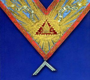 collare Massonico antico caratteristiche massoneria mista
