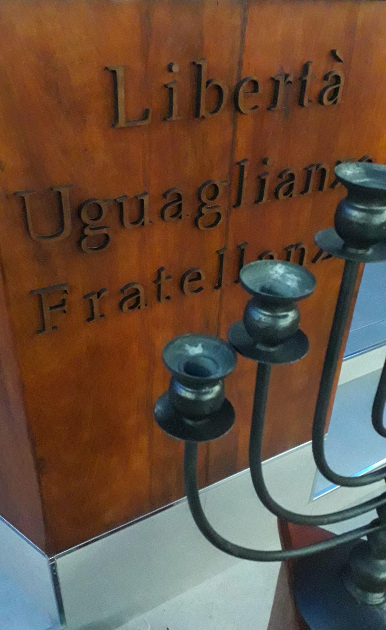 il trinomio massonico Libertà Uguaglianza Fratellanza