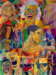 Ich bin ein Wiener - dipinto di Karen Merry - Diversity
