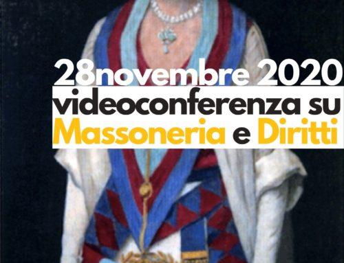 Videoconferenza su Massoneria e Diritti: iscriviti!