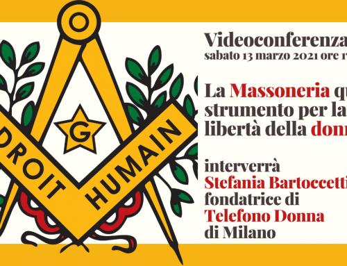 """Videoconferenza: """"Massoneria, uno strumento di libertà per la donna"""""""