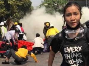 solidarietà con il popolo birmano