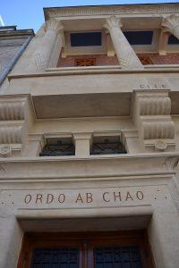 Ordo Ab Chao Tempio massonico Le Droit Humain